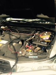 Re wire under bonnet