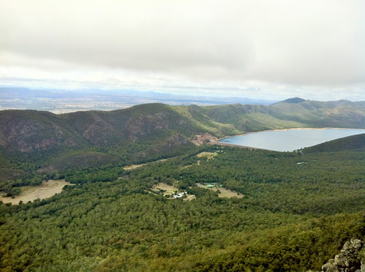 View from the Pinnacles