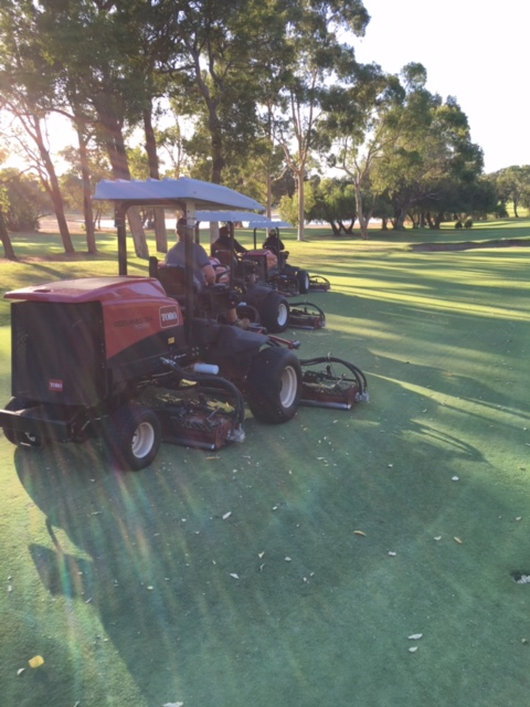 nik mowing fairways